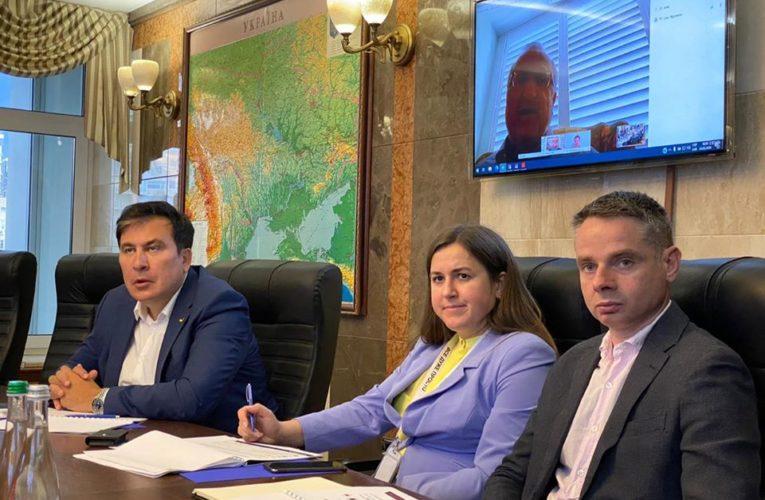 Михаил Саакашвили: Украина останется без железной дороги