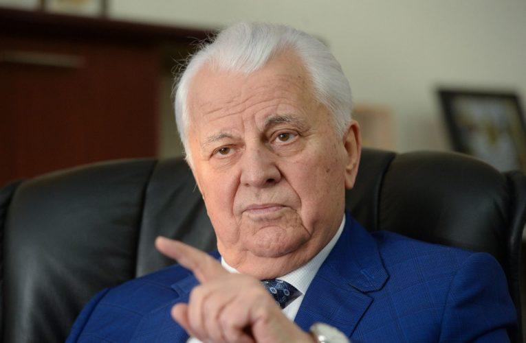 Я хоч слово сказав, що Росія Донбас бомбила? – Кравчук журналістці каналу Росія -1