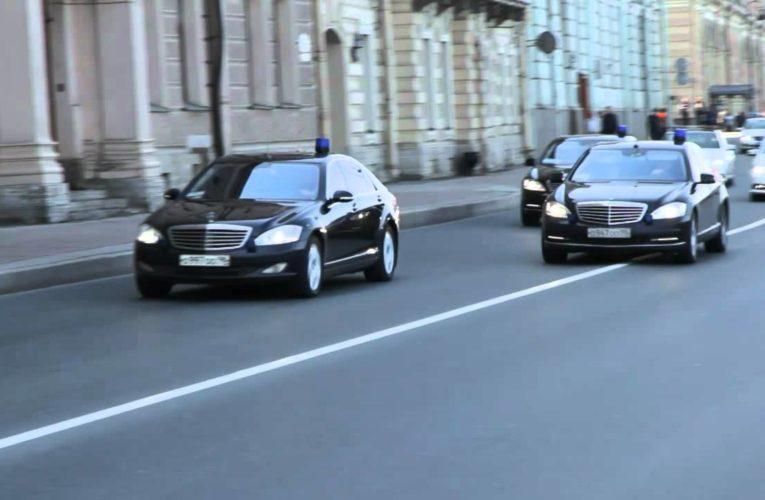 Кортеж Зеленского поймали на злостном нарушении правил движения