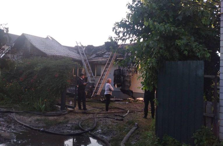 Будинок антикорупційного активіста згорів від вибуху