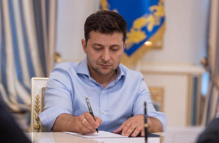 Зеленский назначил двух председателей районных государственных администраций
