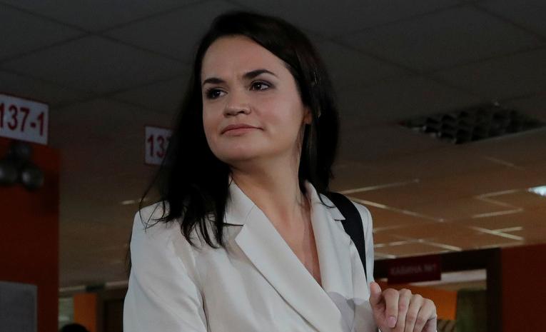 """Тихановська закликала європейських лідерів """"підтримати пробудження Білорусі""""."""