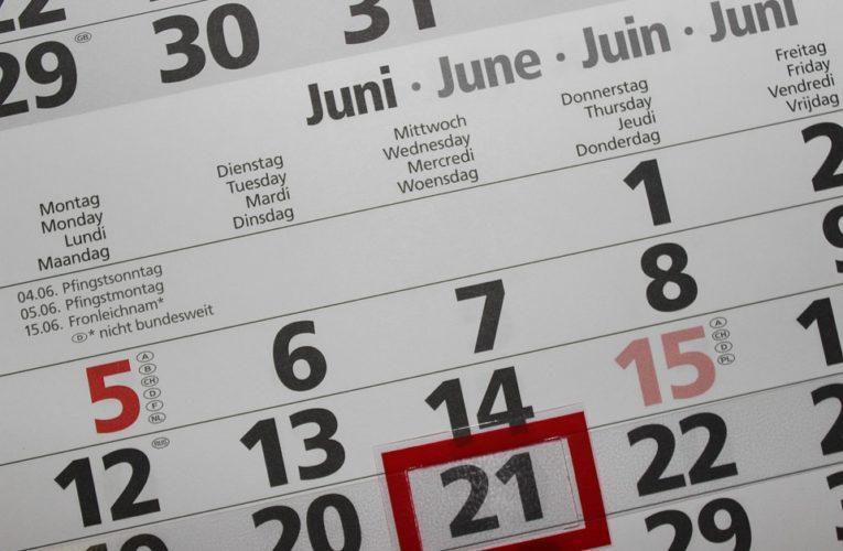 Кабмин опубликовал даты выходных в 2021 году