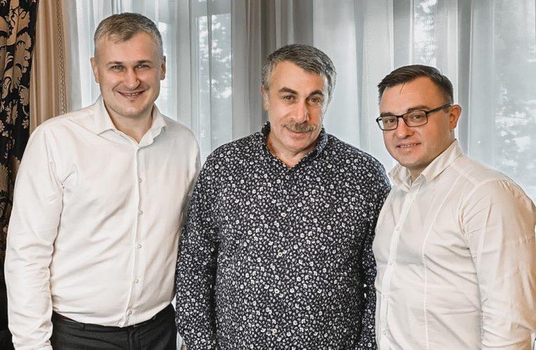 """Комаровський, Конопелько та Бадіков презентували """"Здорове місто"""""""