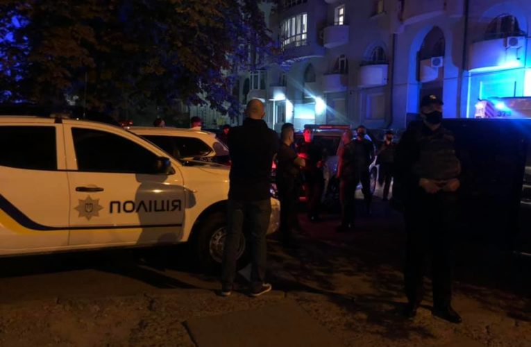 """Сутички біля офісу """"Свободи"""": постраждали троє поліцейсвьких"""