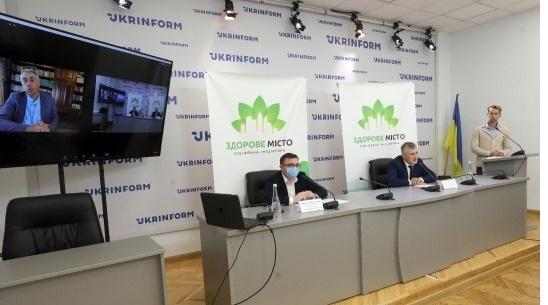 Комаровский, Бадиков и Конопелько презентовали социальную инициативу «Здоровый город»