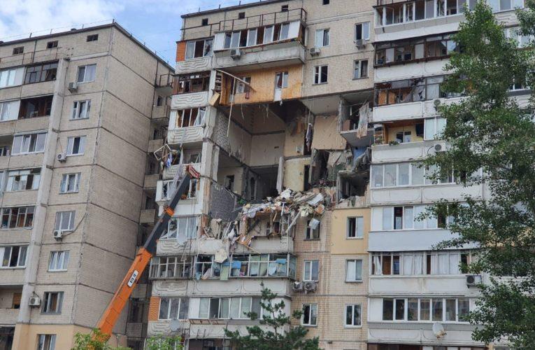 Пожежа у багатоповерхівці у Харкові: є загиблі.