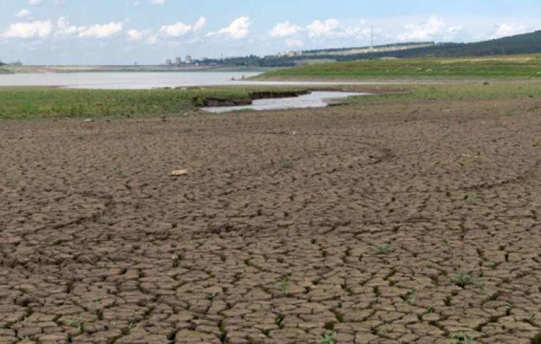 В Крыму высохло еще одно водохранилище