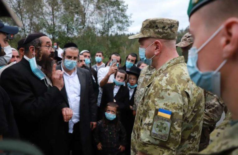 Председатель ГПСУ встретился с застрявшими на белорусско-украинской границе хасидами