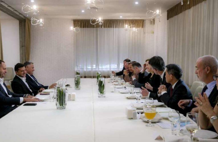 Зеленский обговорил с послами послами G7 и Евросоюза конкурс в САП