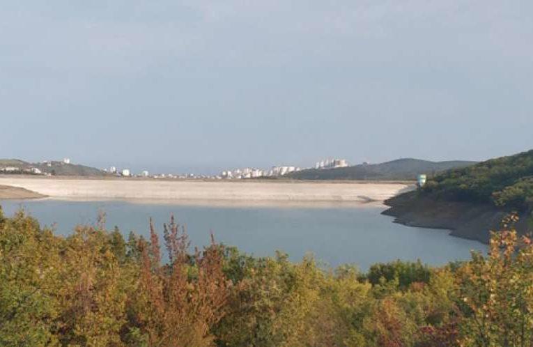 Еще одно водохранилище Крыма на грани обмеления