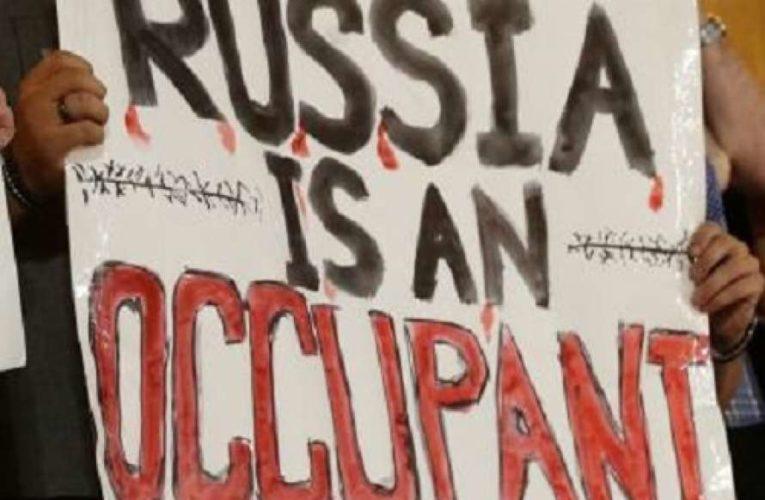 В Сирии начались антироссийские протесты