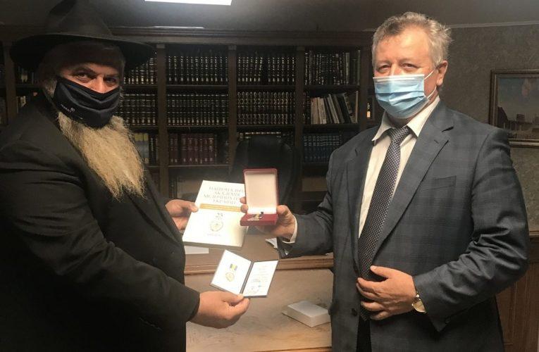 Главному раввину Украины вручена награда