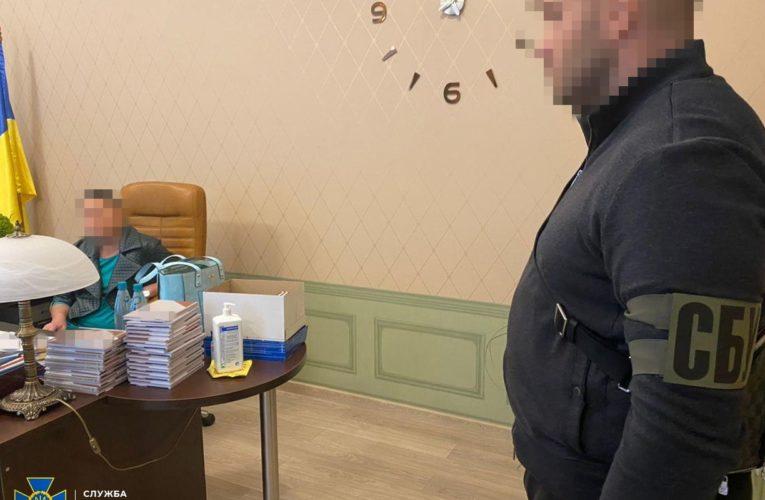 СБУ викрила Голову Харківського окружного адміністративного суду на передачі хабара