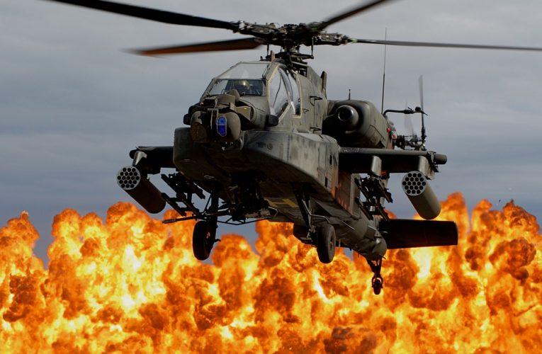 """Вертолет с российскими наемниками ЧВК """"Вагнер"""" взорвался в Ливии"""
