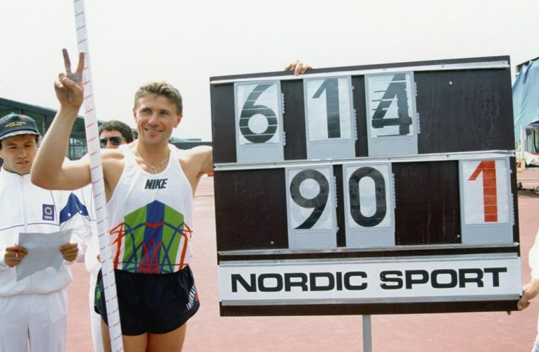 Шведский атлет побил мировой рекорд украинца Сергея Бубки
