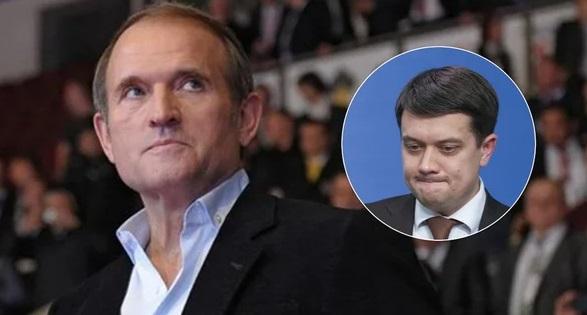 Похоже, что Разумков договорился с Медведчуком и засунул своего шурина в ОПЗЖ