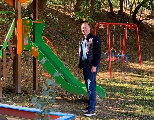 Михайло Терентьєв: 128 нових дитячих майданчиків було обладнано у Печерському районі