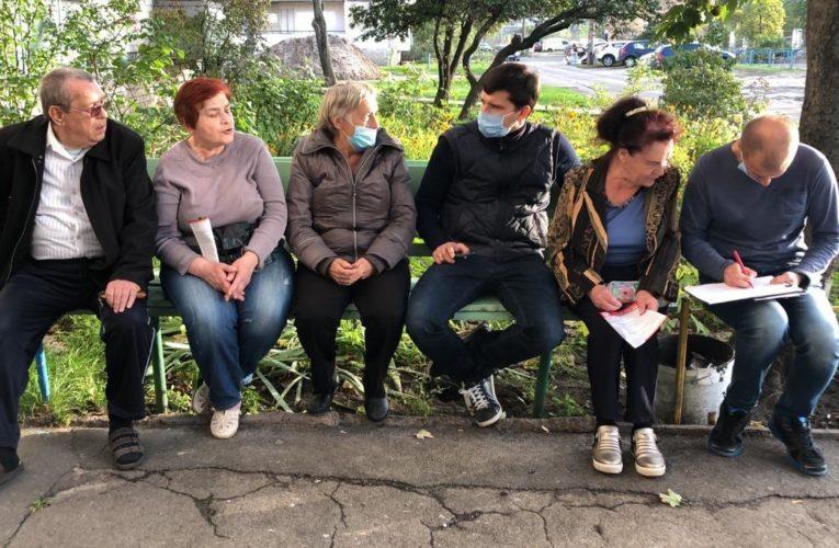 Богдан Чорній представив «Концепцію нового оболонського двору»