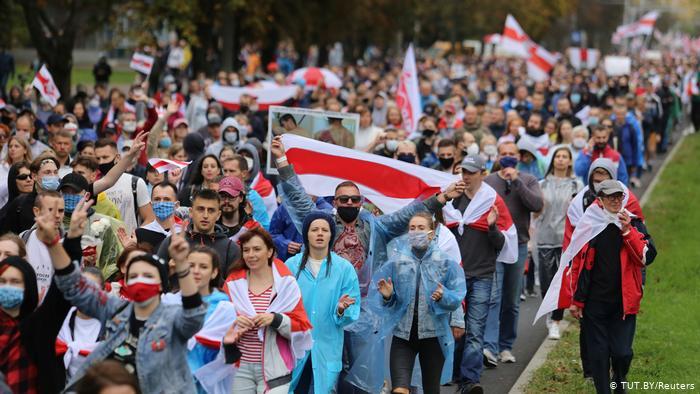 В Минске проходит народная забастовка