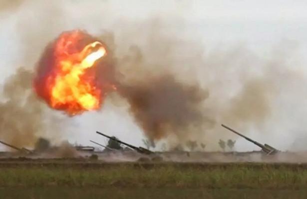 Жители Нагорного Карабаха начали сжигать свои  дома