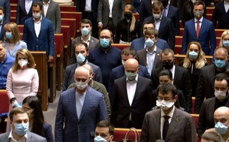 В украинском парламенте зафиксирована первая смерть от коронавируса