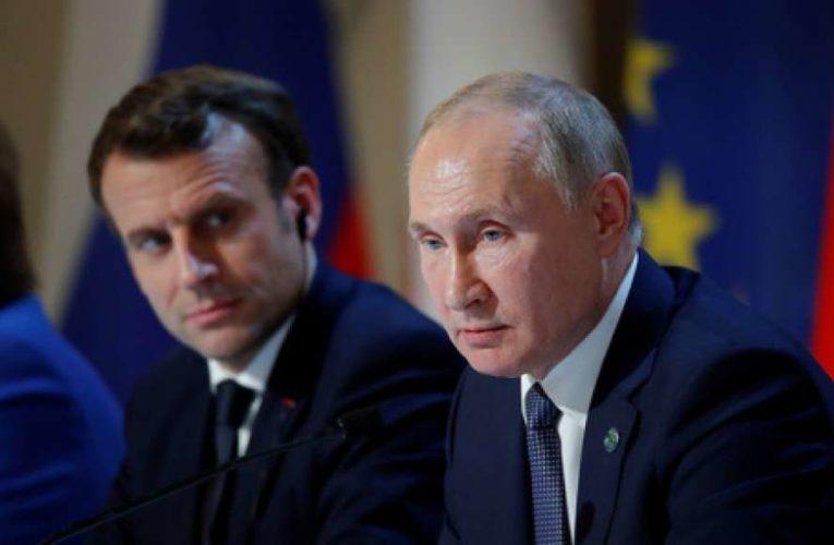 Макрон и Путин обсудили ситуацию в Нагорном Карабахе