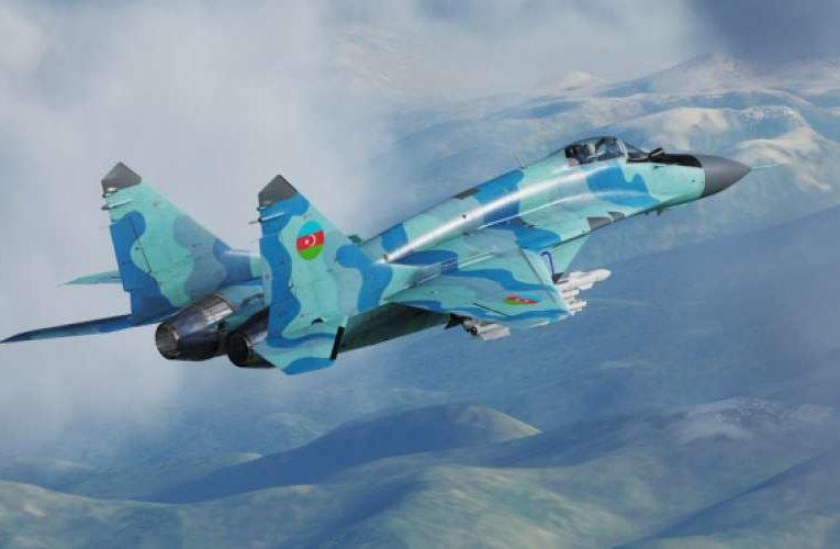ВВС Азербайджана нанесли авиаудары по городам Нагорного Карабаха