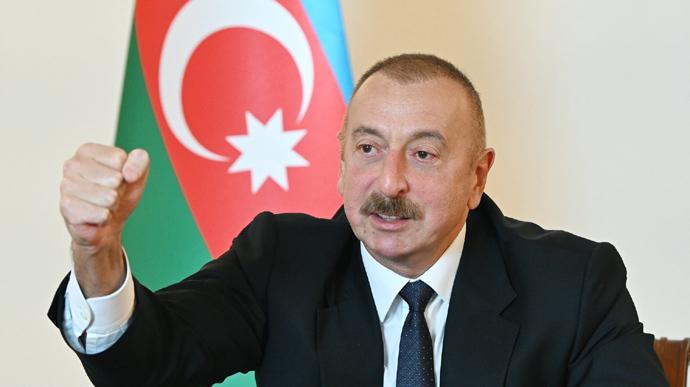 Президент Азербайджана  заявил о переходе под контроль азербайджанской армии более 20 населенных пунктов