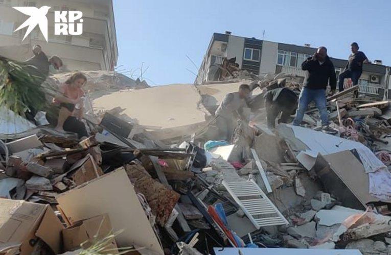 В Турции произошло мощное землетрясение и цунами (Фото)