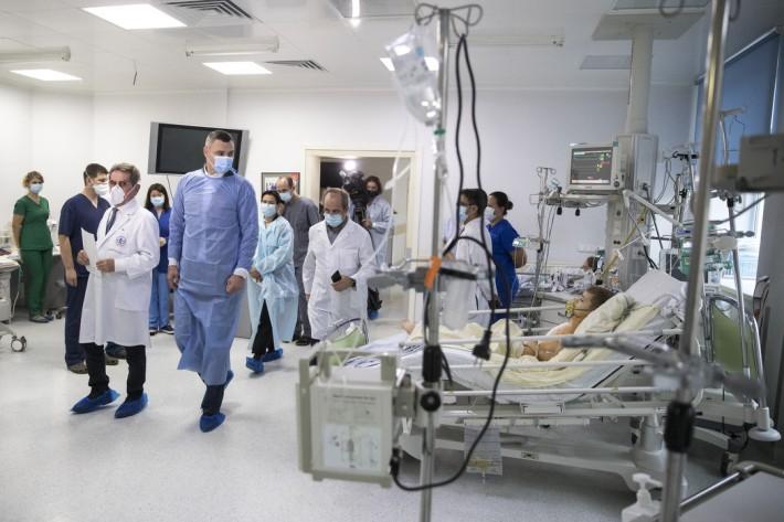 Віталій Кличко: У наступному році відкриємо в Києві міський дитячий кардіологічний центр (Фото)