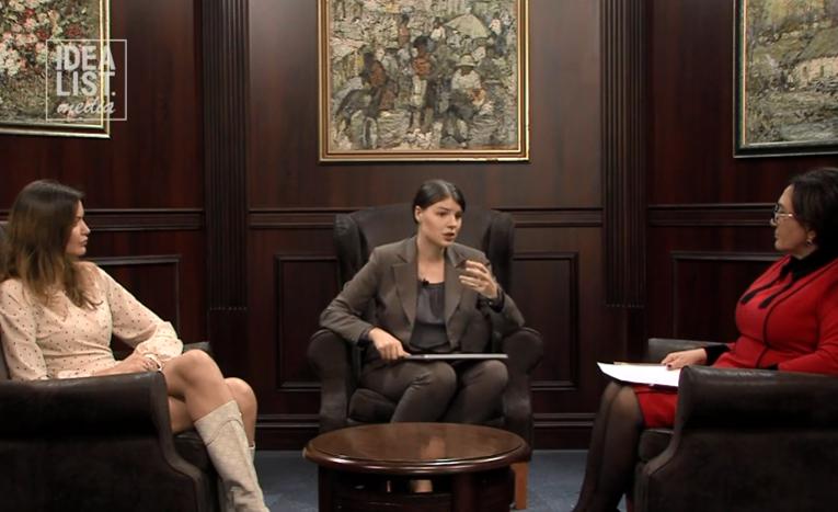 Копаница и Лисимова поделились секретами женского лидерства (ВИДЕО)