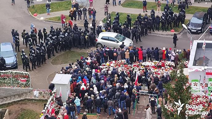 У Мінську жорстко розігнали акцію протесту, багато затриманих