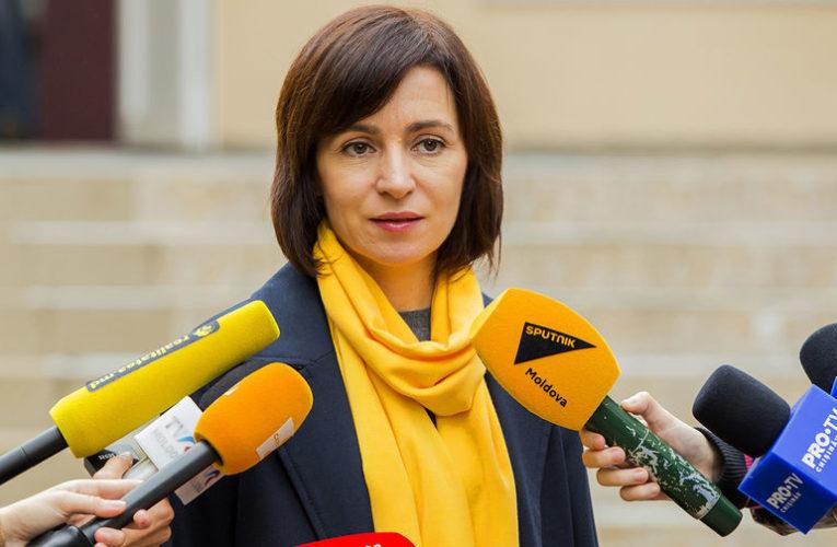 Санду победила на выборах президента Молдовы