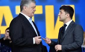 Зеленский и Порошенко устроили перепалку в соцсетях