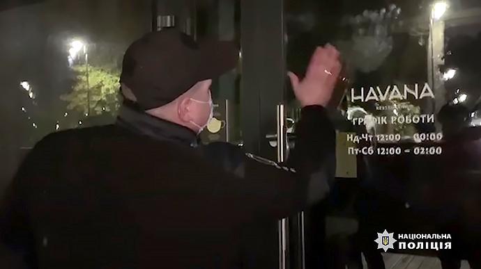 Поліцейські зачинили столичний ресторан «Гавана»