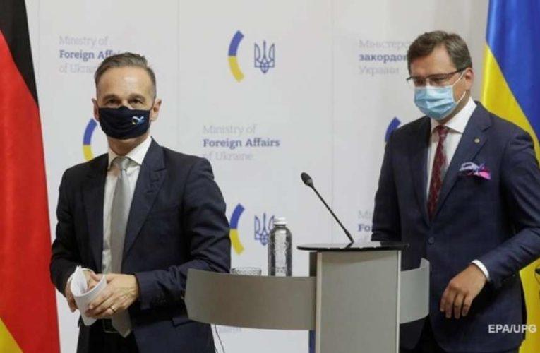 Главы МИД Украины и  Германии обсудили подготовку к саммиту Восточного партнерства и ситуацию в Беларуси