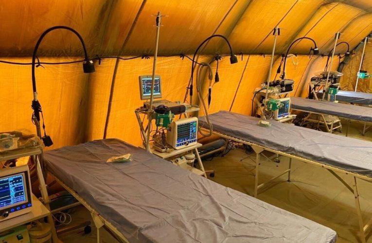 В правительстве рассказали, где начнут разворачивать мобильные госпитали