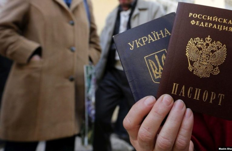 Київ протестує проти указу Путіна про полегшення в визнанні «документів» угруповань в ОРДЛО і в наданні мешканцям регіону громадянства Росії