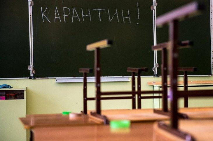 Все школы Киевщины закрыты на карантин