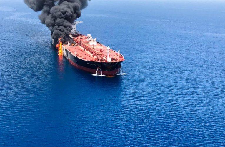 У берегов Саудовской Аравии взорвался танкер