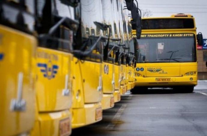 Стало известно, как будет работать общественный транспорт Киева в новогоднюю ночь