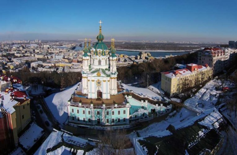 В Киеве показали убранство обновленной Андреевской церкви