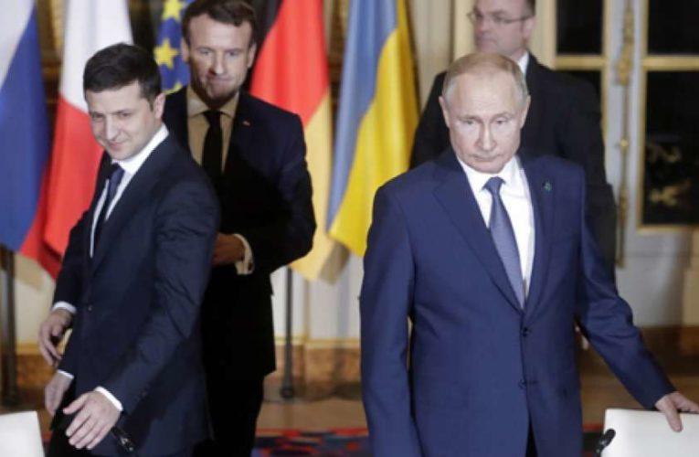 Зеленский и Путин прокомментировали ситуацию на Донбассе