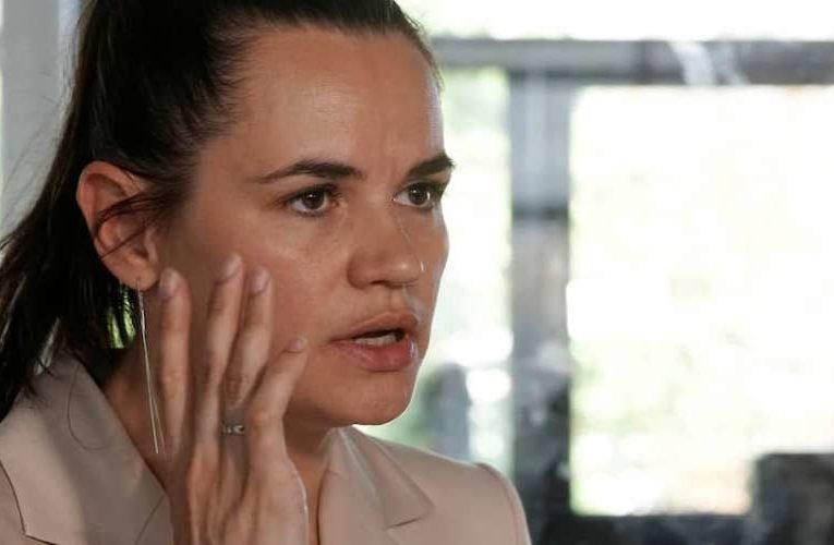 Тихановская попросила ЕС выступить посредником в открытом диалоге белорусской оппозиции с РФ