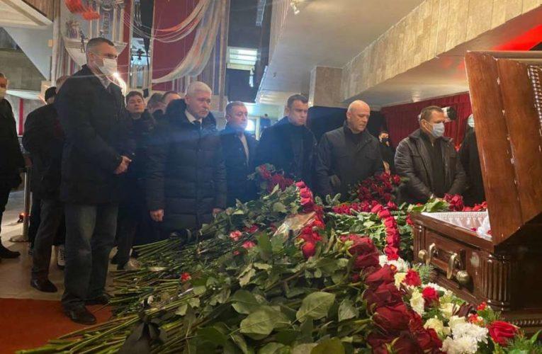 Мэры Киева, Днепра и Одессы попрощались с Кернесом (Фото,Видео)