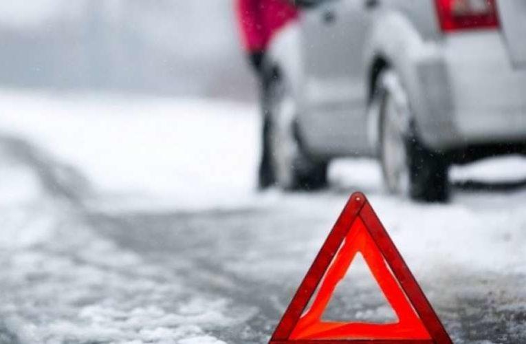 В Киеве из-за погоды за сутки произошло более 160 ДТП
