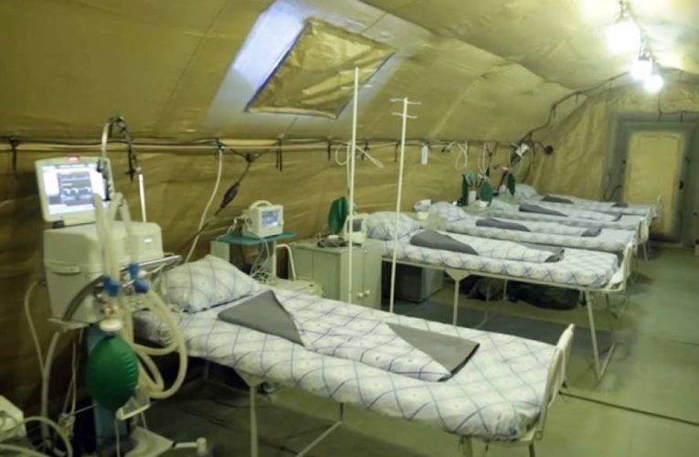 В Крыму начали разворачивать мобильные коронавирусные госпитали