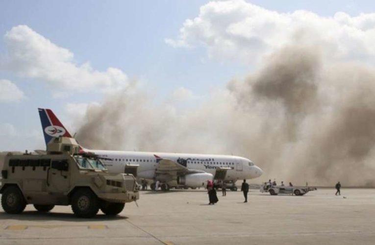 В аэропорту Йемена прогремел взрыв, десятки людей погибло