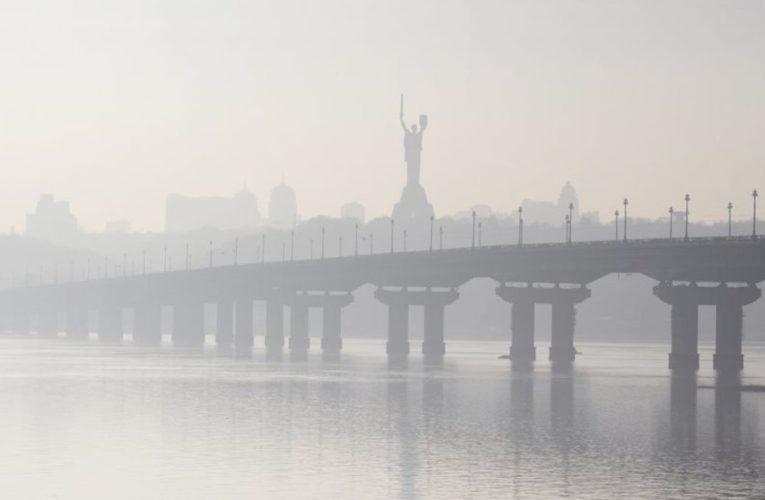 Киев  попал в ТОП городов с самым грязным воздухом в мире